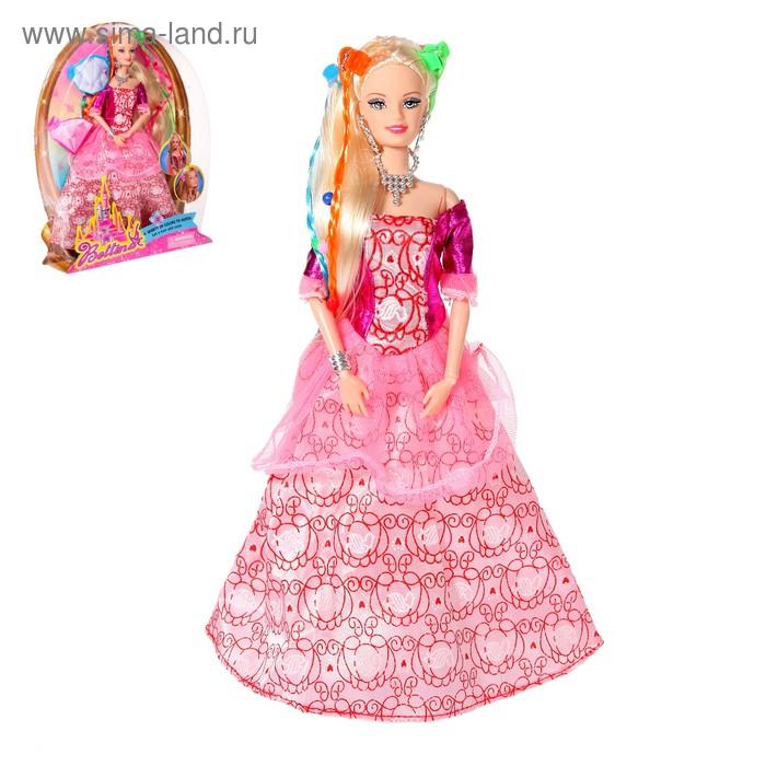 Кукла модель шарнирная «Принцесса» в бальном платье с ...