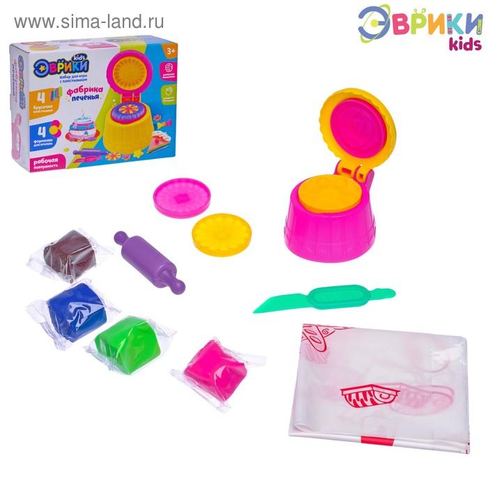 Набор для игры с пластилином «Фабрика печенья»