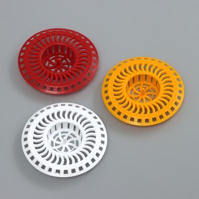 Фильтр для раковины INSTAR, d=8 см, цвет МИКС - Фото 1