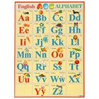 "Плакат ""ENGLISH ALPHABET"" А2"