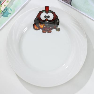 Тарелка мелкая «Совушки», d=17,5 см, рисунок МИКС - Фото 1