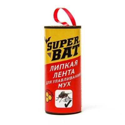 """Липкая лента от мух """"Super Bat"""" - Фото 1"""