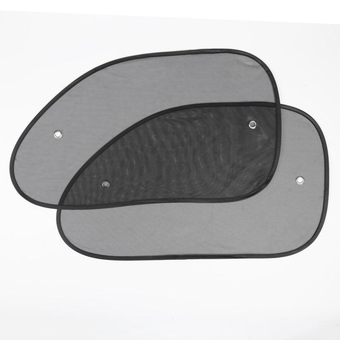 Шторки солнцезащитные на присосках TORSO, 36x65 см. набор 2 шт
