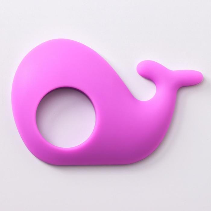 Прорезыватель силиконовый «Китёнок», цвет МИКС