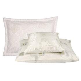Подушка «Гречиха», размер 40 × 40 см, тик