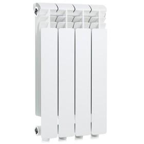 Радиатор Global ISEO – 350, алюминиевый, 4 секции