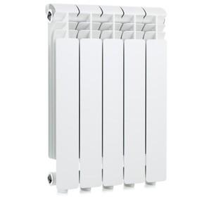 Радиатор Global ISEO – 500, алюминиевый, 5 секций