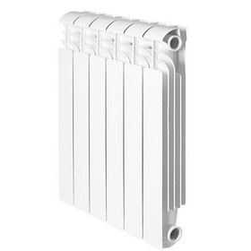Радиатор Global ISEO – 500, алюминиевый, 6 секций