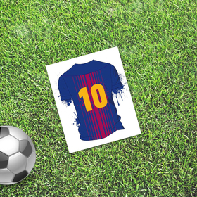 Открытка мини–формата одинарная «Лучший», футбол, 9 х 10 см Ош
