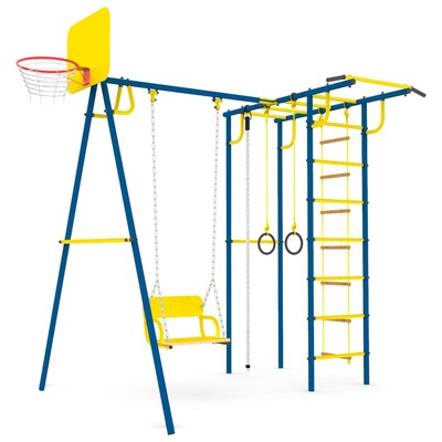 Детский спортивный комплекс уличный-6.2 «Тарзан мини 2», цвет ультрамарин