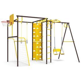 Детский спортивный комплекс уличный-7.2 «Атлет-К», цвет шоколад