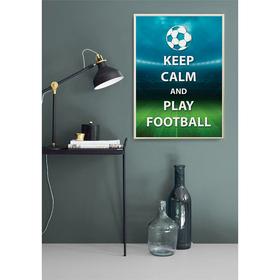 Постер «Играй в футбол!», А4 21 х 29 см Ош