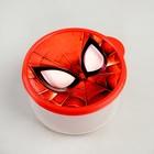 Ланч-бокс круглый 500 мл, Человек-паук - Фото 3