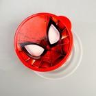 Ланч-бокс круглый 500 мл, Человек-паук - Фото 2