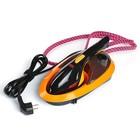 Отпариватель MIE ASSISTENTE-M, ручной, портативный, 1500 Вт, 0.5 л, 80 г/мин, чёрно-оранж.