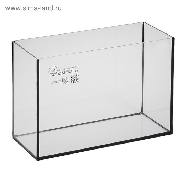 Аквариум прямоугольный Атолл без крышки, 29 литров, 43 х 22,5 х 30 см