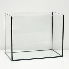 Аквариум прямоугольный без крышки, 30 литров, 40 х 23 х 32 см