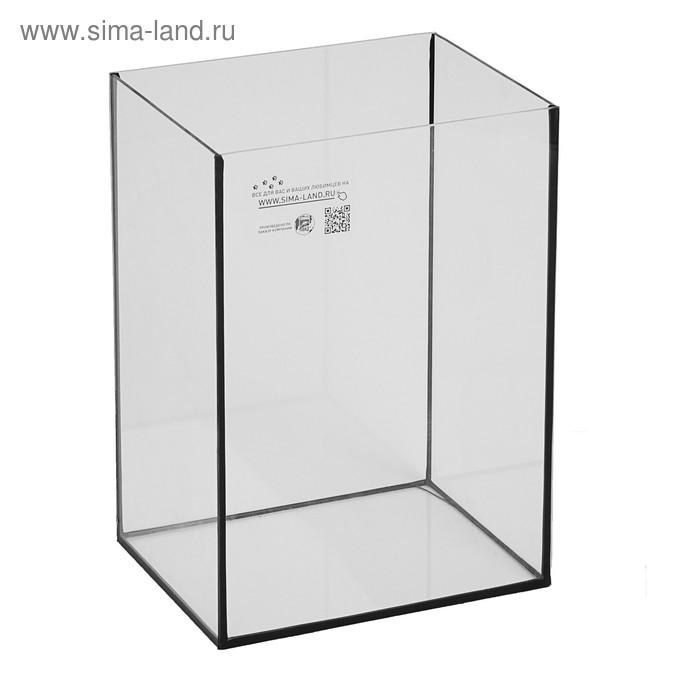 Аквариум колонна без крышки, 24 литра, 28 х 21 х 40 см