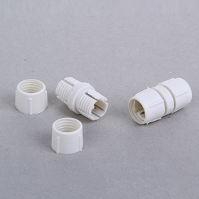 Коннектор для дюралайта 13 мм, 2W, прямой Ош