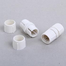 Коннектор для дюралайта 13 мм, 3W, прямой Ош