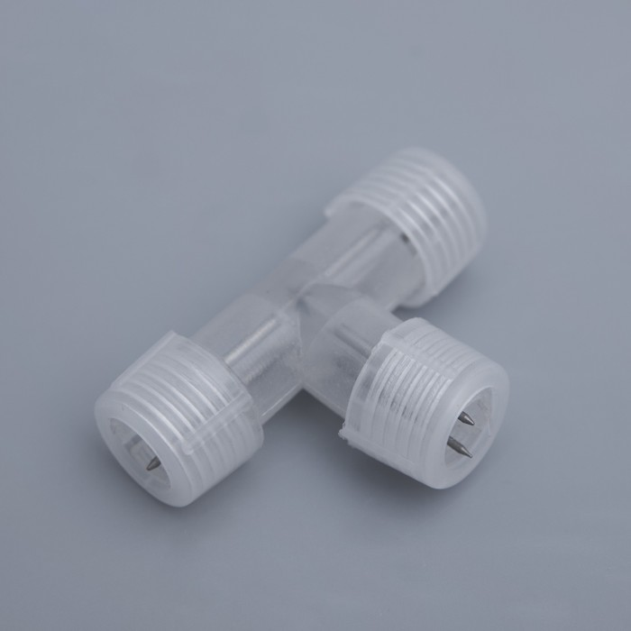 Коннектор для дюралайта 13 мм, 2W, Т - образный