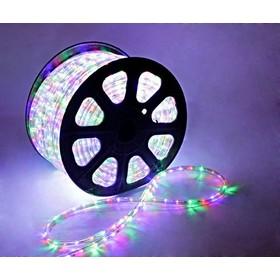 LED шнур 13 мм, круглый, 100 м, чейзинг, 3W-LED/м-36-220V. в компл. набор д/подкл. МУЛЬТИ Ош