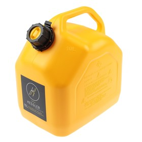 Канистра ГСМ Kessler premium, 10 л, пластиковая, желтая Ош
