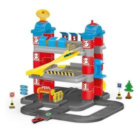 Игровой набор «Паркинг», 3 уровня, 2 машинки, лифт