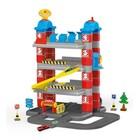 Игровой набор «Паркинг», 4 уровня, 2 машинки, лифт