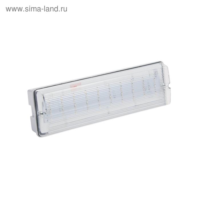 Светильник аварийный Pelastus, 5.4Вт, батарея 3.6В, 0.9А/ч, время работы 180мин, PL EML 2.0   346485
