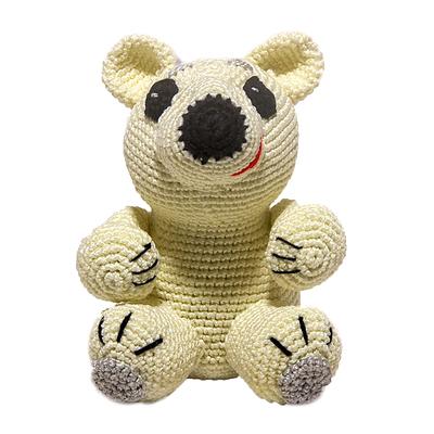 """Набор для вязания игрушки """"Белый мишка Айсберг"""" 15х10 см"""