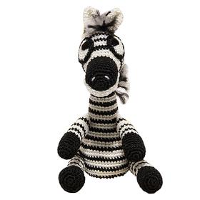 Набор для вязания игрушки 'Зебра Тельняшка' 21х10 см Ош