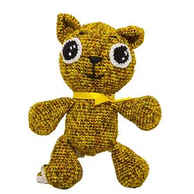 Набор для вязания игрушки 'Котенок Рыжий' 16х13 см Ош