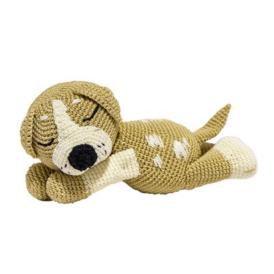 """Набор для вязания игрушки """"Спящий щенок Митька"""" 21х10 см"""
