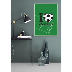 Постер «Держи взгляд на мяче», А3 29,7 х 42 см Ош
