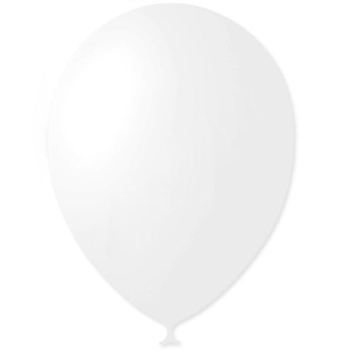 Шар латексный 5, водяные бомбочки, декоратор, набор 100 шт., цвет белый