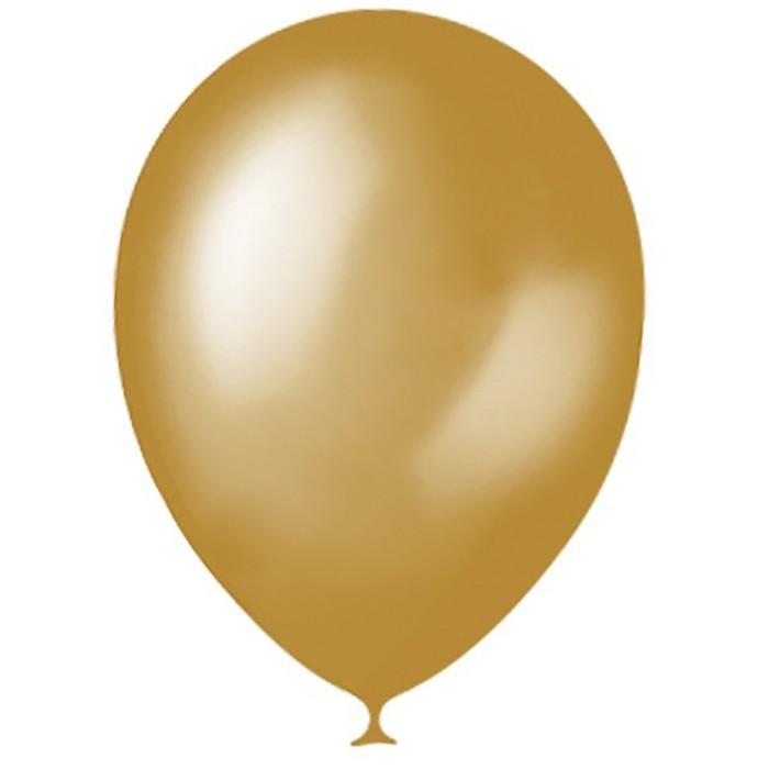 Шар латексный 5, водные бомбочки, декоратор, набор 100 шт., цвет золотой