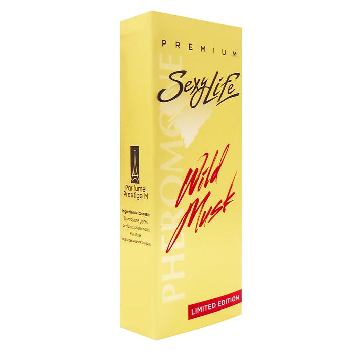 Духи с феромонами Sexy Life Wild Musk №9 Dark Purple (Montale), женские, 10 мл