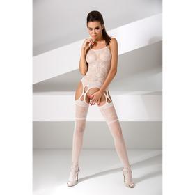 Костюм-сетка Passion Erotic Line, цвет белый, размер OS