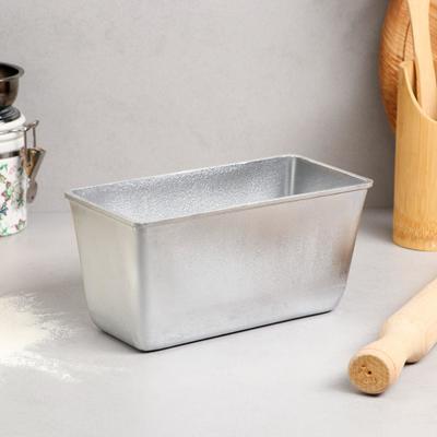 Форма для выпечки хлеба, 0,6 кг, литой алюминий - Фото 1