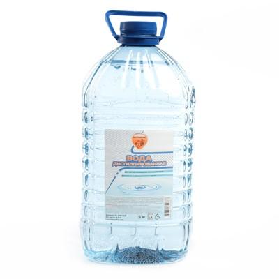 Дистиллированная вода Элтранс, 4.8 л - Фото 1
