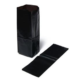 Пакет для рассады, 10 л, 45 × 60 см, с перфорацией, чёрный Ош