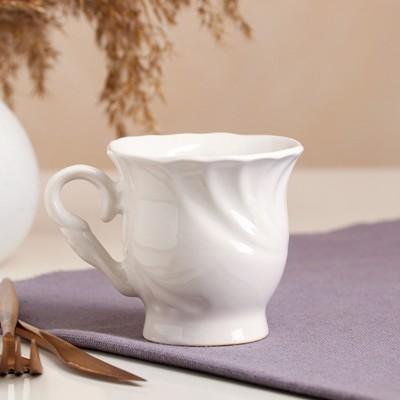 """Чашка """"Орфей"""", белая, 0.25 л - Фото 1"""