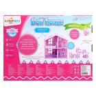 Домик для кукол «Дом Анжелика», розово-сиреневый, с мебелью - Фото 2