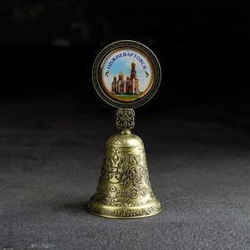 Колокольчик со вставкой «Нижневартовск» Ош