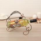 Подставка для бутылки «Кленовый лист», 24×10×22 см