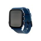"""Смарт-часы SMA Q2 Lite, цветной дисплей 1.28"""", с пульсометром, синие"""