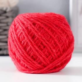 Пряжа 'Акрил' 100% акрил, 108м/42гр (Красный мак) Ош