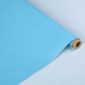 Пергамент флористический 'Серо-голубой', матовый двусторонний, 63 г/м², 0,5 х 5 м Ош