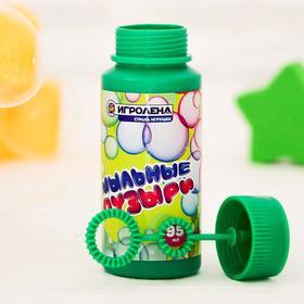Мыльные пузыри, 95 мл, МИКС